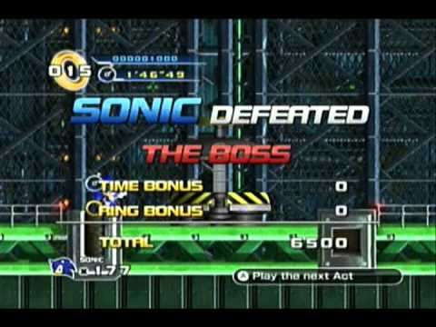 Sonic the Hedgehog 4: All Bosses Demonstration