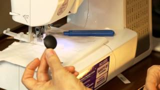Making BUTTONHOLES - Step by Step with Brother CE8080PRW Computerized Sewing Machine