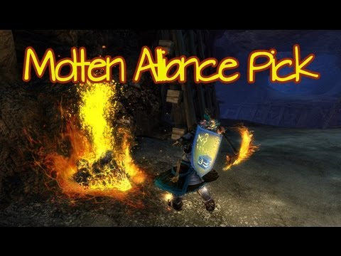 Guild Wars 2 - Molten Alliance Mining Pick Preview