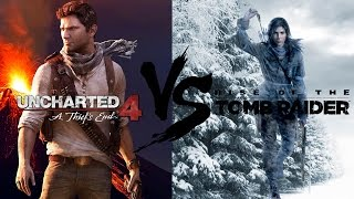 Что же лучше Uncharted 4 или Rise of the Tomb Raider?!