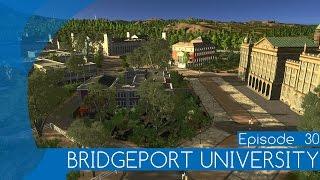 BRIDGEPORT UNIVERSITY - Let's Design Cities: Skylines #030 (deutsch) | Feierfox