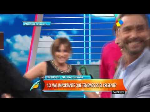 El insólito juego que propuso Nacha Guevara en Intrusos