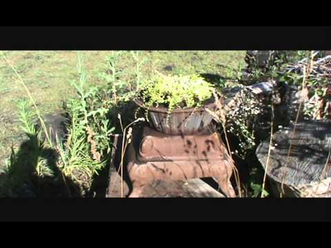 Cheap Garden Art From Discarded Junk Items Youtube