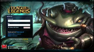 League of Legends - Tahm Kench Giriş Ekranı