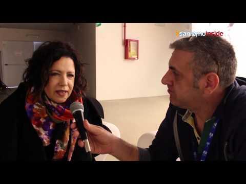 Antonella Ruggiero svela il suo segreto al festival Sanremo 2014