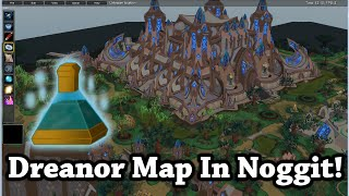 Wow 3.3.5a - Draenor Map In Noggit 1.4 +WMO +Water - VLOG