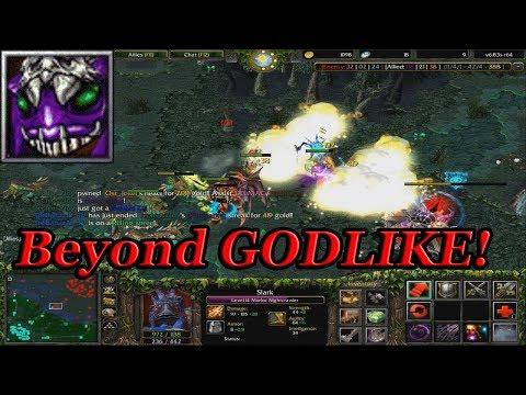 DOTA 1 - SLARK BEYOND GODLIKE!!!!