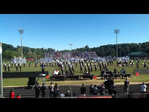 """Nation Ford High School Marching Band--""""A Hero Among Us"""""""