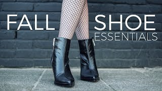 7 shoe essentials for fall | Fashion tips & tricks