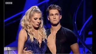 Mollie King & AJ Pritchard - Strictly Come Dancing: The Results - 15 October 2017