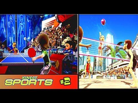 Обзор Kinect Sports #2 | Настольный теннис + Воллейбол
