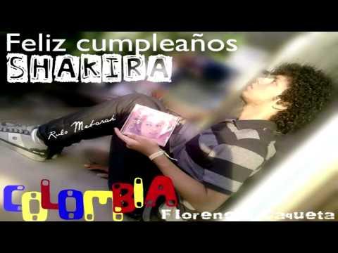 Happy birthday Shakira!!!! 2011!! 34 years old