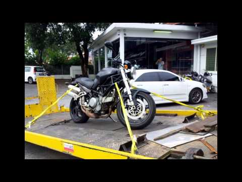 #ducati #bikers assisted at #motoaid malaysia