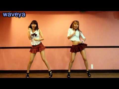 T-ara Roly Poly Dance Tutorial # Waveya Ari Miu video
