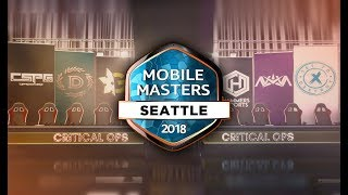 Critical Ops Amazon Mobile Masters LAN Tournament - Group Stage