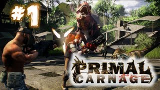 Primal Carnage - Gameplay #1 (Team Deathmatch) | Como Humano