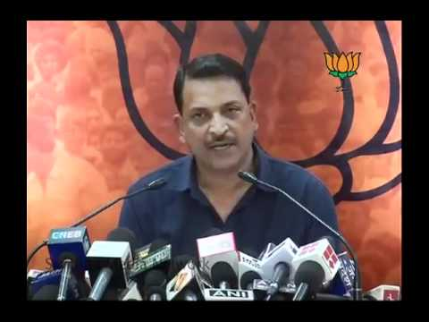 Pranab Mukherjee, Congress on Lokpal Bill & J. Dey Murder Case: Sh. Rajiv Pratap Rudy: 13.06.2011
