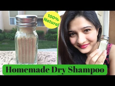 DIY 100% Natural Dry Shampoo | Get silky & shiny hair | Natural Hair growth using dry shampoo | AVNI