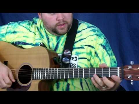 Lesson Guitar - Bluegrass Beginner Tag Licks