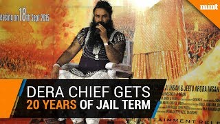 Gurmeet Ram Rahim sentenced to 20 years of imprisonment