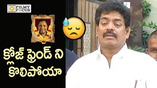 Sivaji Raja Emotional Speech @Celebrities Homage to Gundu Hanumantha Rao