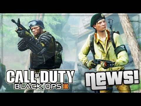 Black Ops 3 Multiplayer News! Zombies Leaked & Images (Call Of Duty Black Ops 3)