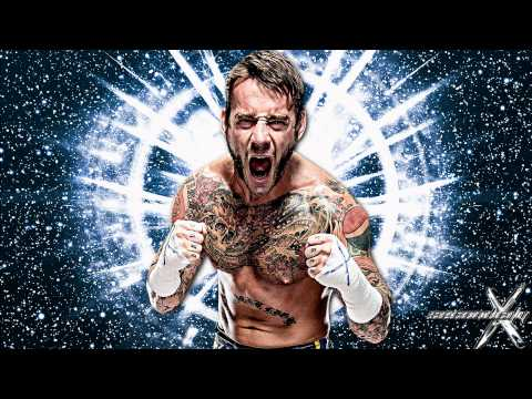 20112013: CM Punk 2nd WWE Theme Song - Cult of Personality (...