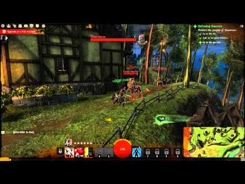 [1] Reign of the Afro Ninja - Guild Wars 2 w/ GaLm (Human/Thief)