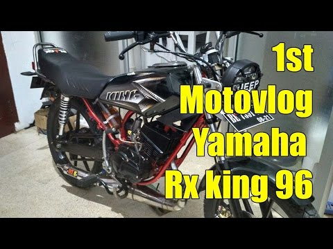 1st Motovlog Yamaha RX KING 96