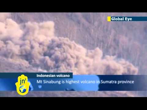 Indonesia's Mount Sinabung continues to spew volcanic ash: volcano is highest in North Sumatra