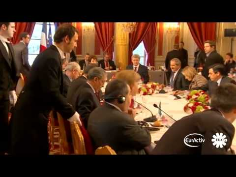 Paris hosts UN, US, EU, AU, Arab League-meeting on Libya (raw video)