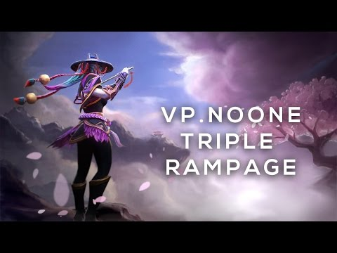 VP.NOONE TEMPLAR ASSASSIN TRIPLE RAMPAGE | BOSTON MAJOR