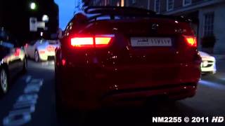 Hamann BMW X6M Tycoon EVO Loud Sound   Start and Accelerations!