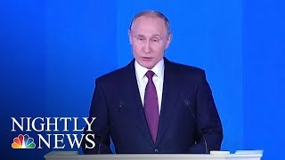Vladimir Putin Claims Russia Has New 'Invincible' Nuclear Missile | NBC Nightly News