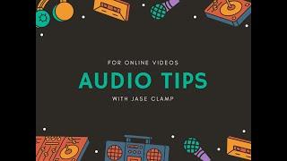 Audio tips for linkedin videos