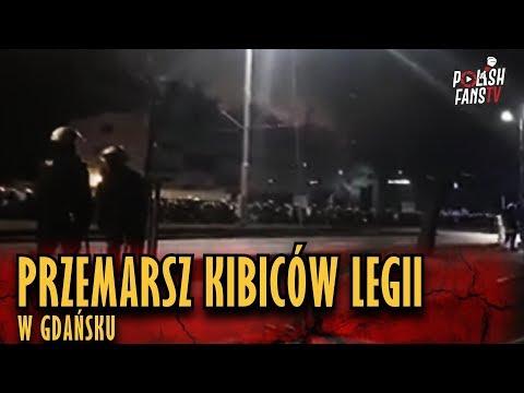 Przemarsz Kibiców Legii W Gdańsku [LQ] (09.12.2018 R.)