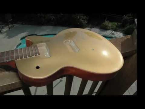 Gibson Les Paul BFG Goldtop Refinish