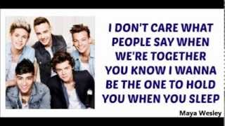 One Direction Video - One Direction - Happily (Lyrics and Pictures) (Album Midnight Memories)