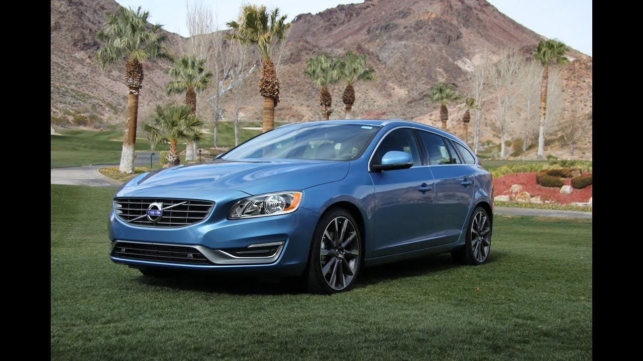 2015 Volvo V60 Sport Wagon Review and Road Test - YouTube