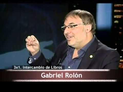 ESTA NOCHE LIBROS 2 - Intercambio de Libros con Gabriel Rolón
