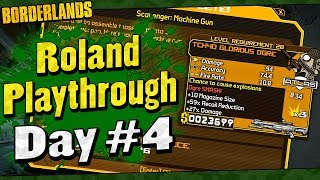 Borderlands   Roland Playthrough Funny Moments And Drops   Day #4