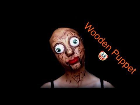 Puppet Halloween Makeup
