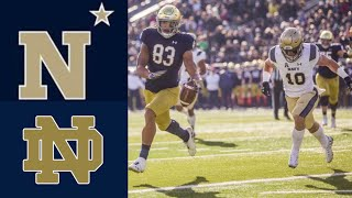 #23 Navy vs #16 Notre Dame Highlights | NCAAF Week 12 | College Football Highlights