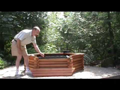 Pond Kits Easy Set Up Part 4 The Benches Youtube