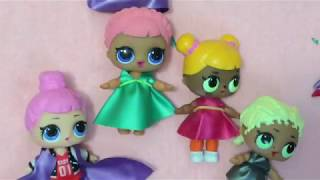 DIY clothing for LOL Lil Outrageous Littles Surprise glitter craft Toy Review