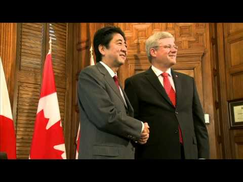 Shinzo Abe welcome