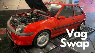 Ford Fiesta Engine Conversion 1.8T Vag AGU