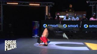 Flying Buddha vs. Willy | Break The Floor 2012