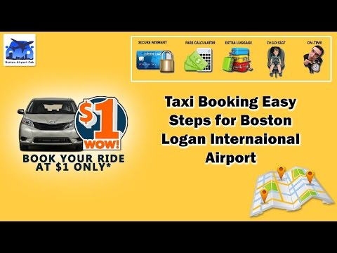 Few Simple Steps to Book Taxi in 1$* for Boston / Easy Booking Steps for Boston Airport Cab