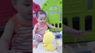 Em bé chơi với bạn - káo 9.5m💕💕💕